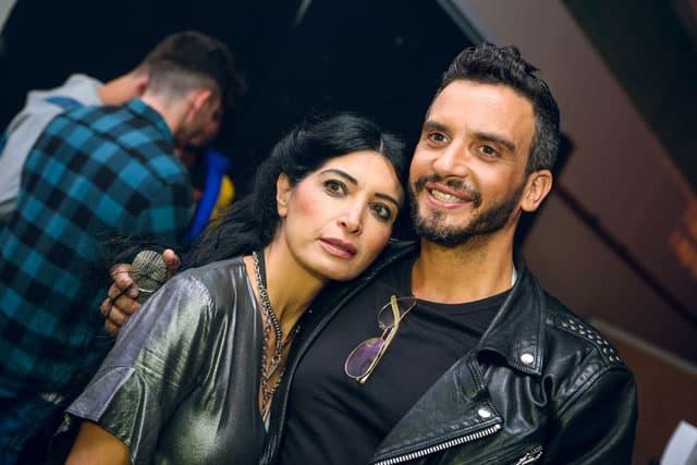 בצילום: מושיק גלאמין ומאיה אושרי כהן. צילום: סטודיו ארזביט