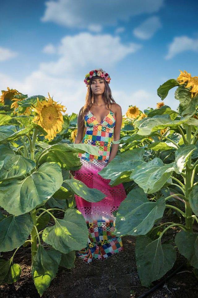 שמלה בעיצובו של ירון מינקובסקי. צילום: קובי אלוני, efifo, שבועות, אתר אופנה - 1-1