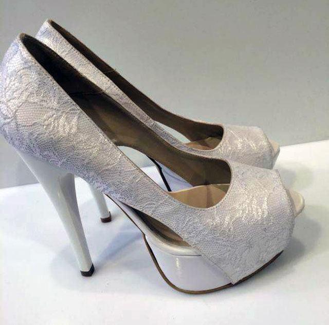 נעלי כלה בעיצוב דורין סגול