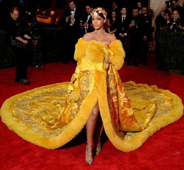 בצילום: ריהאנה. צילום: pinterest
