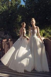 שמלות כלה של טלי ומריאנה. צילום: דניאל אלסטר, efifo, שמלת כלה
