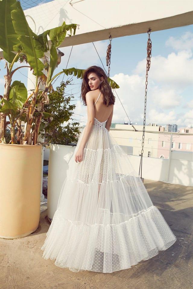 שמלת כלה של מרדכי אברהם ביריד כלות חכמות EFIFO אתר אופנה, צילום הילה שייר