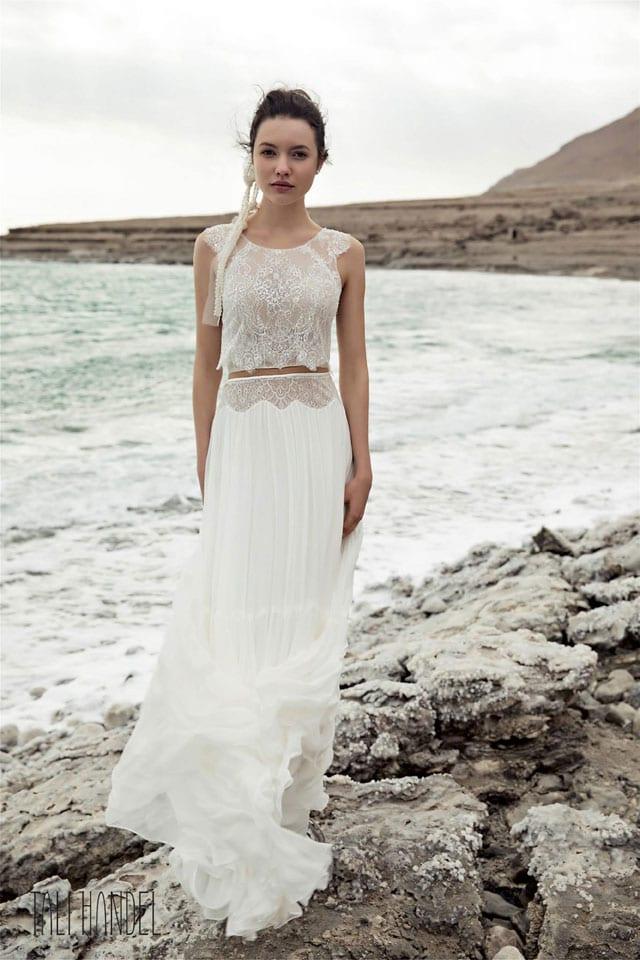 שמלת כלה של דוד חצבני. יריד כלות חכמות. EFIFO אתר אופנה, צלם: איתן טל