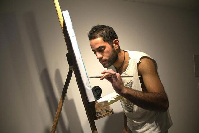 """מגזין אמנות, תערוכת יחיד """"בר"""" של האמן אופיר בוסקילה במוזיאון האדם והחי ברמת גן-9"""