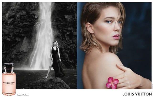 מגזין אופנה, ליה סיידו נבחרה להוביל את קמפיין ההשקה לסדרת הבשמים החדשה של בית האופנה לואי ויטון