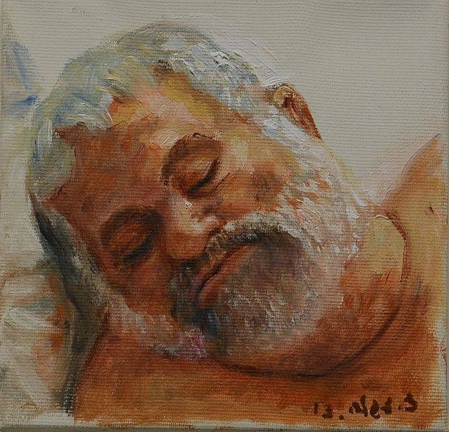 ציפי צגלה, מנשה ישן, 2013, שמן על בד