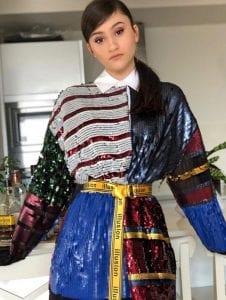 אגם בוחבוט לובשת טומי הילפיגר- צילום-דור ערבה