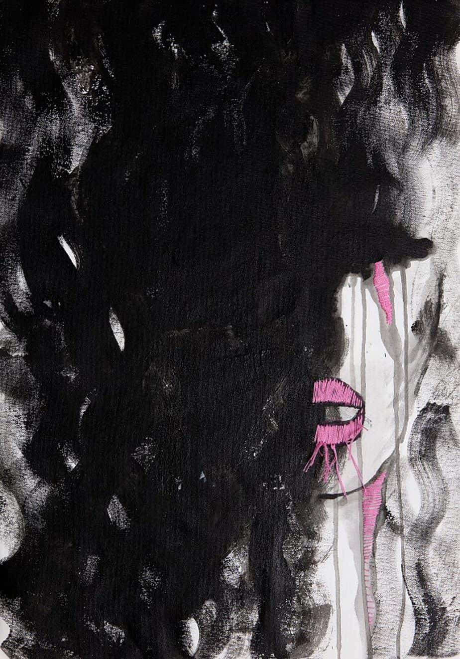 איורי אופנה מימי זיו. תערוכת איור אופנה -אוצרת: לאה פרץ, צילום רני יחזקאל (3)3