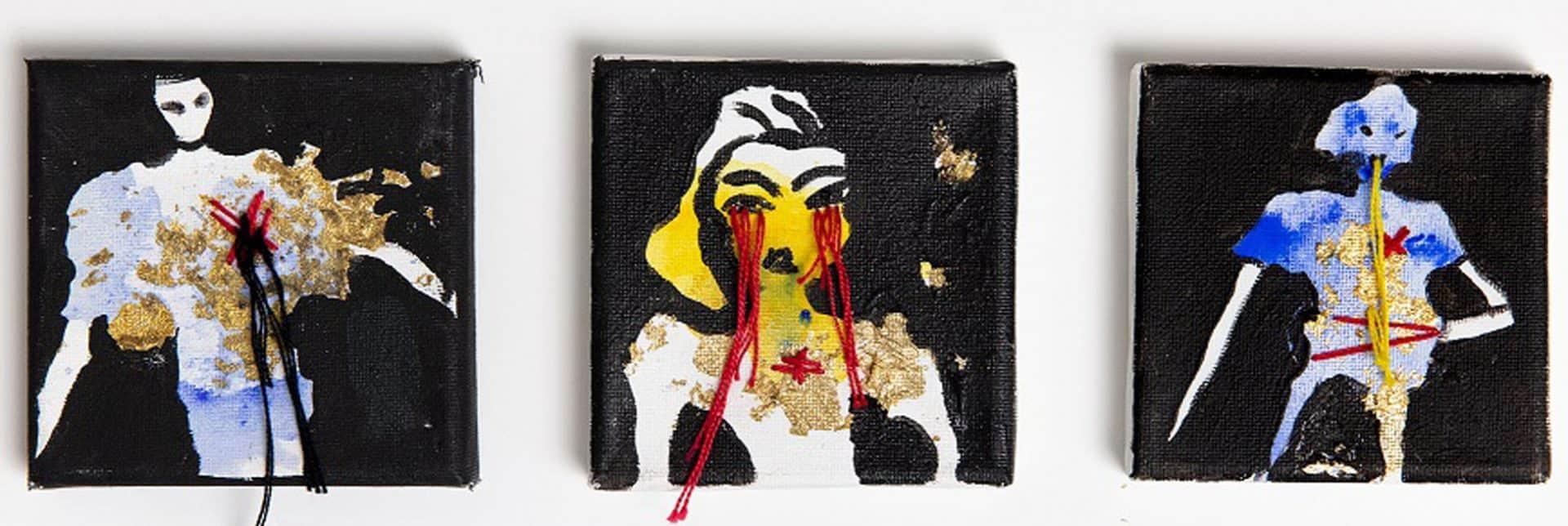 איורי אופנה מימי זיו. תערוכת איור אופנה -אוצרת: לאה פרץ, צילום רני יחזקאל (14)
