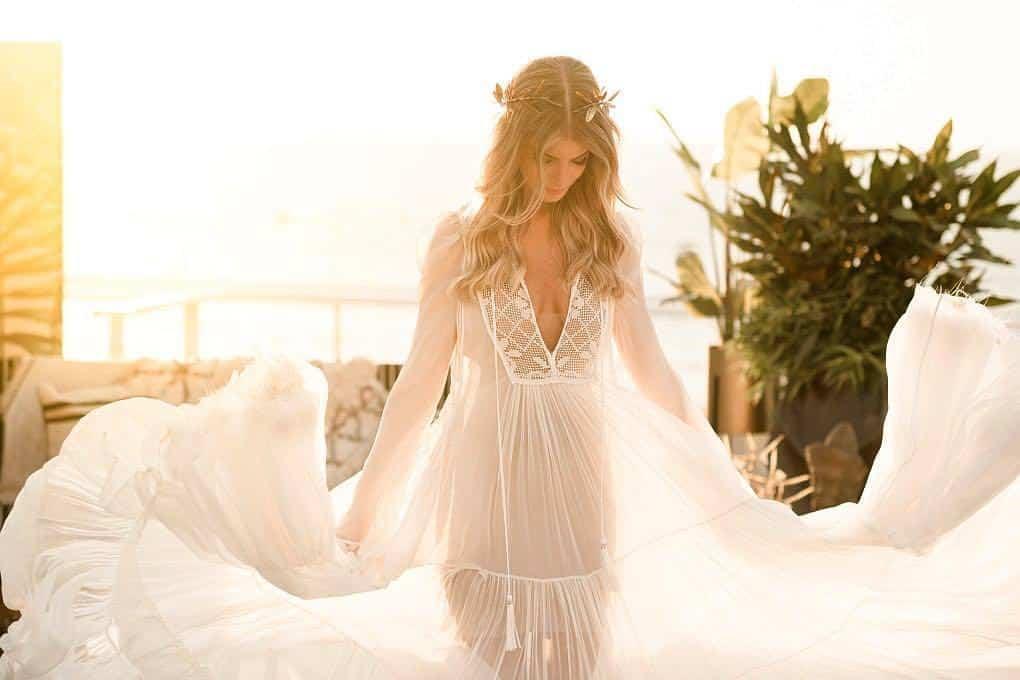 ויוי בלאיש שמלת כלה. צילום: חיים אפריאט