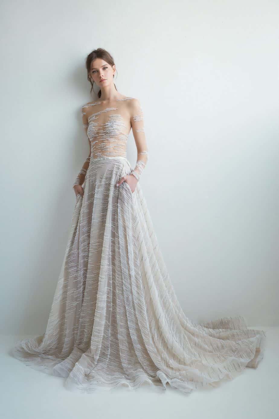 לי גרבנאו שמלת כלה. צילום: דביר כחלון