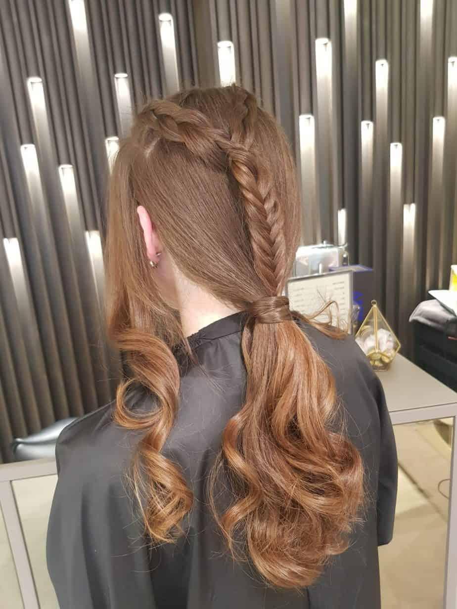 מראה צמות מרושלות. עיצוב שיער: גיא צרפתי. צילום: יח״צ