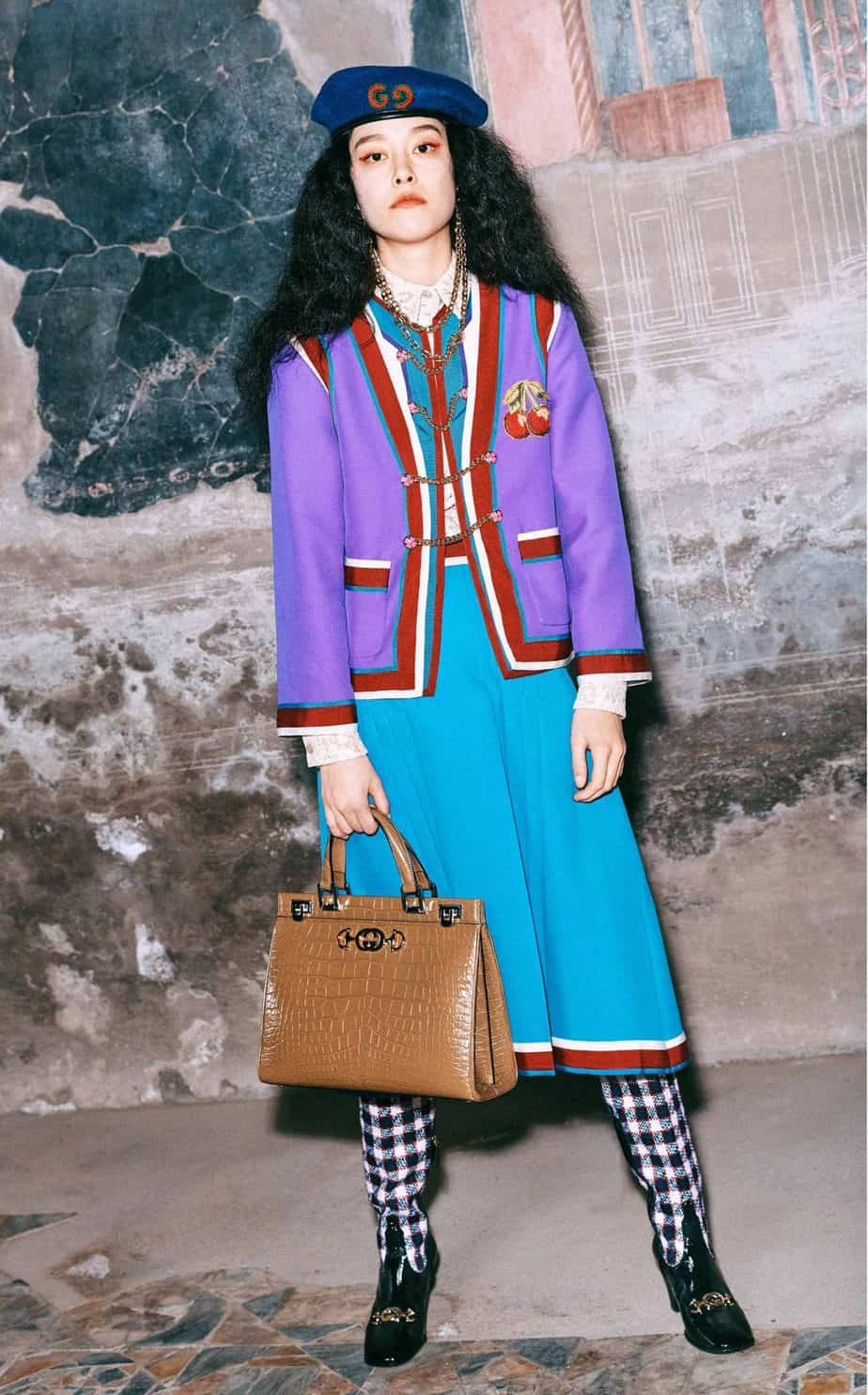GUCCI, FALL 2019. WOMEN'S FASHION, Photographer Harmony Korine, Art Director, Christopher Simmonds - 100