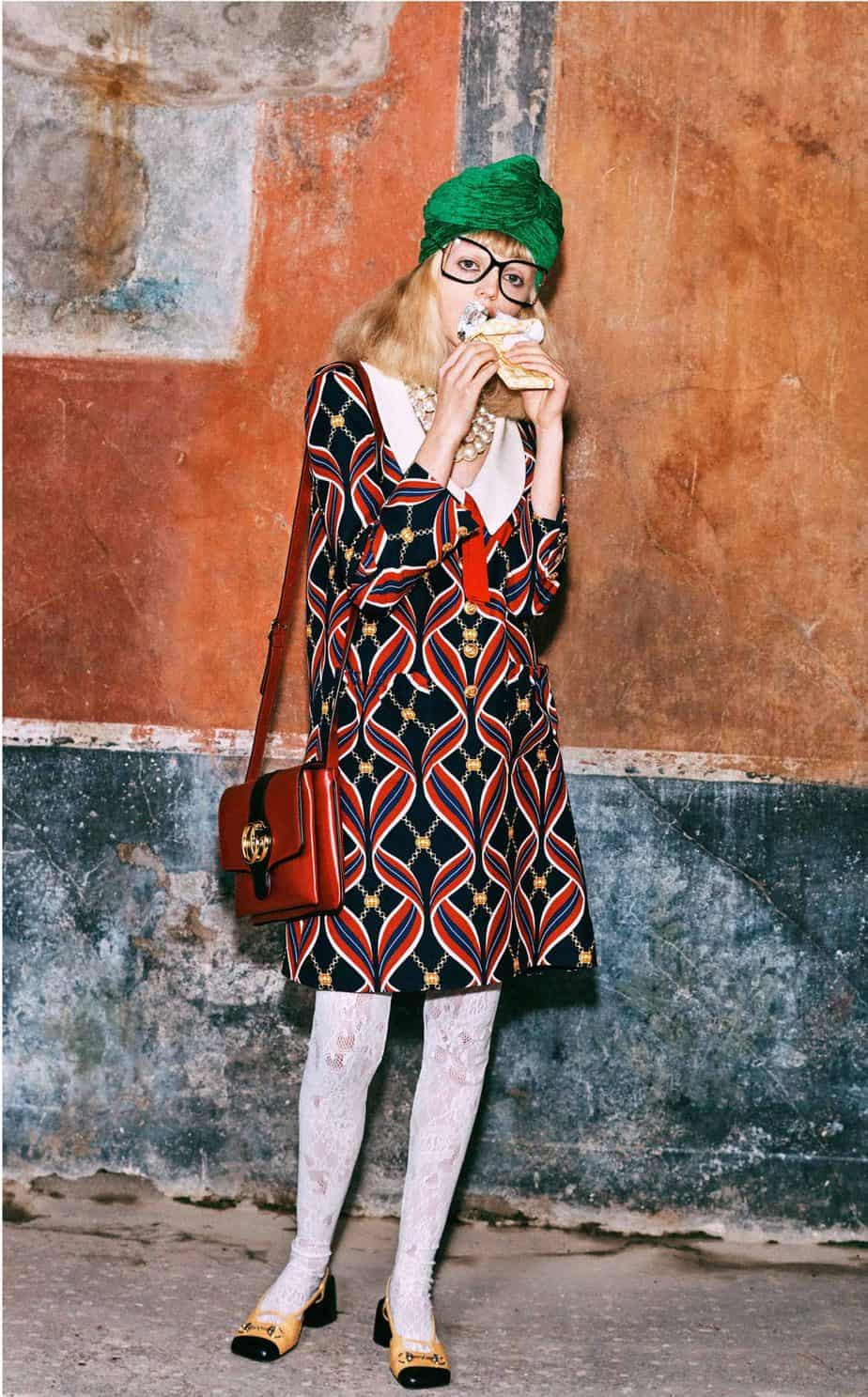 GUCCI, FALL 2019. WOMEN'S FASHION, Photographer Harmony Korine, Art Director, Christopher Simmonds - 103