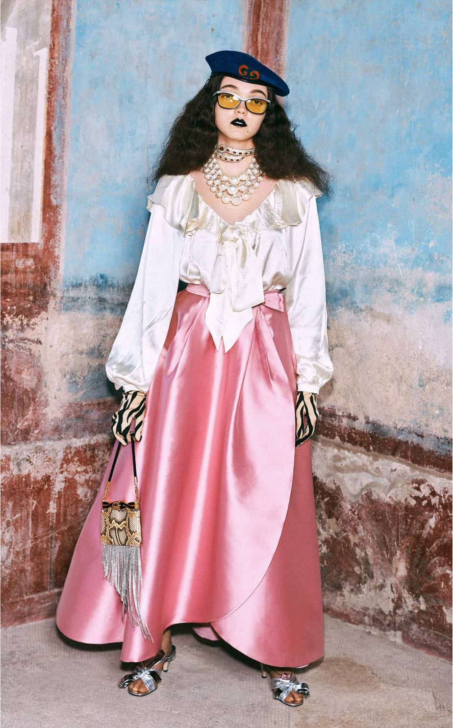 GUCCI, FALL 2019. WOMEN'S FASHION, Photographer Harmony Korine, Art Director, Christopher Simmonds - 104