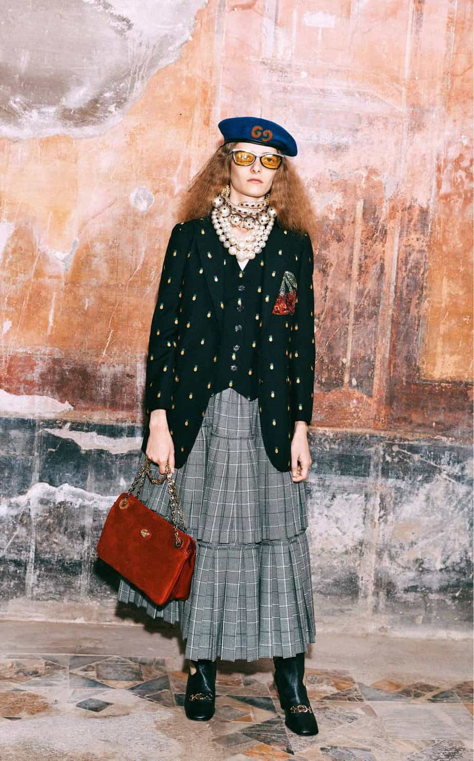 GUCCI, FALL 2019. WOMEN'S FASHION, Photographer Harmony Korine, Art Director, Christopher Simmonds - 12