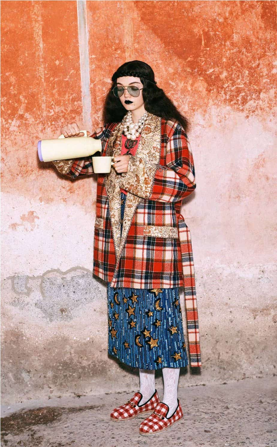 GUCCI, FALL 2019. WOMEN'S FASHION, Photographer Harmony Korine, Art Director, Christopher Simmonds - 22