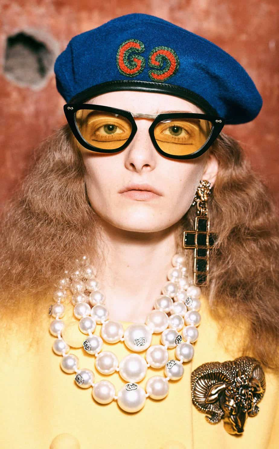 GUCCI, FALL 2019. WOMEN'S FASHION, Photographer Harmony Korine, Art Director, Christopher Simmonds - 29