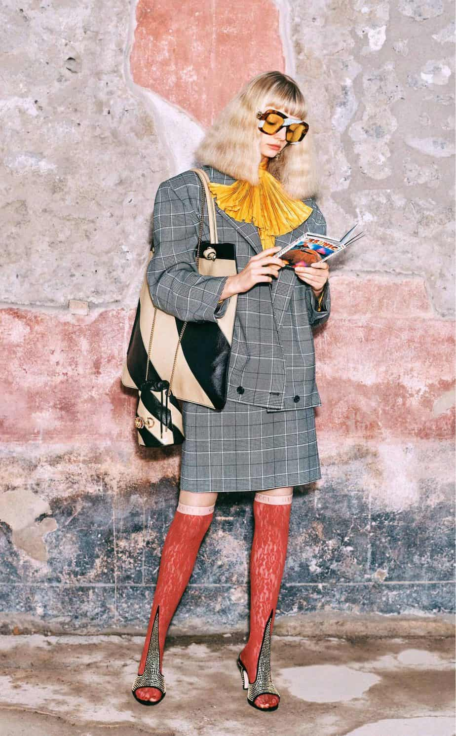 GUCCI, FALL 2019. WOMEN'S FASHION, Photographer Harmony Korine, Art Director, Christopher Simmonds - 42