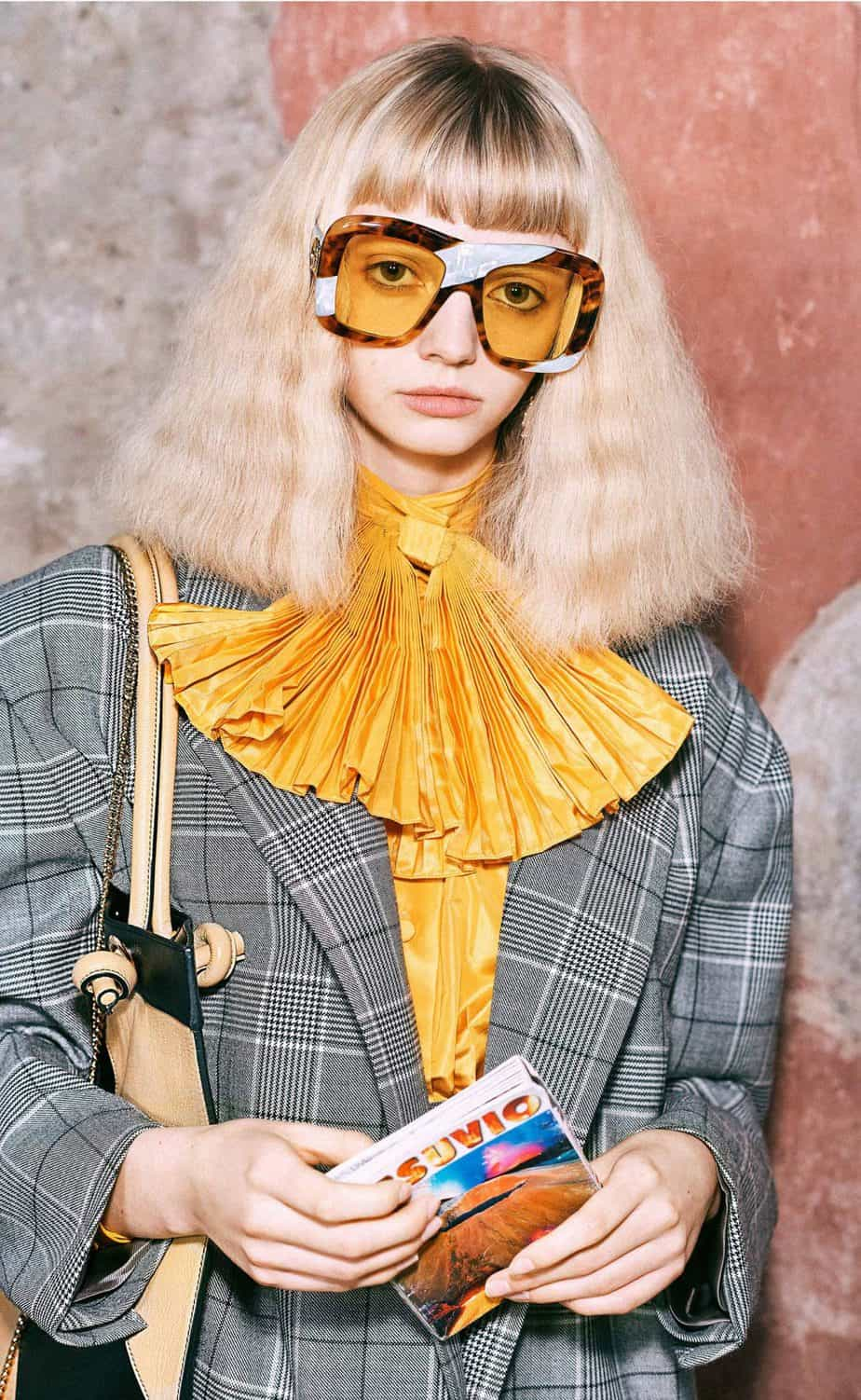 GUCCI, FALL 2019. WOMEN'S FASHION, Photographer Harmony Korine, Art Director, Christopher Simmonds - 43
