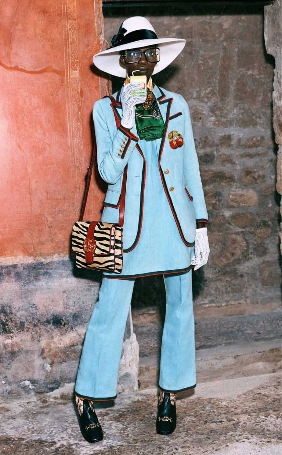 GUCCI, FALL 2019. WOMEN'S FASHION, Photographer Harmony Korine, Art Director, Christopher Simmonds - 44