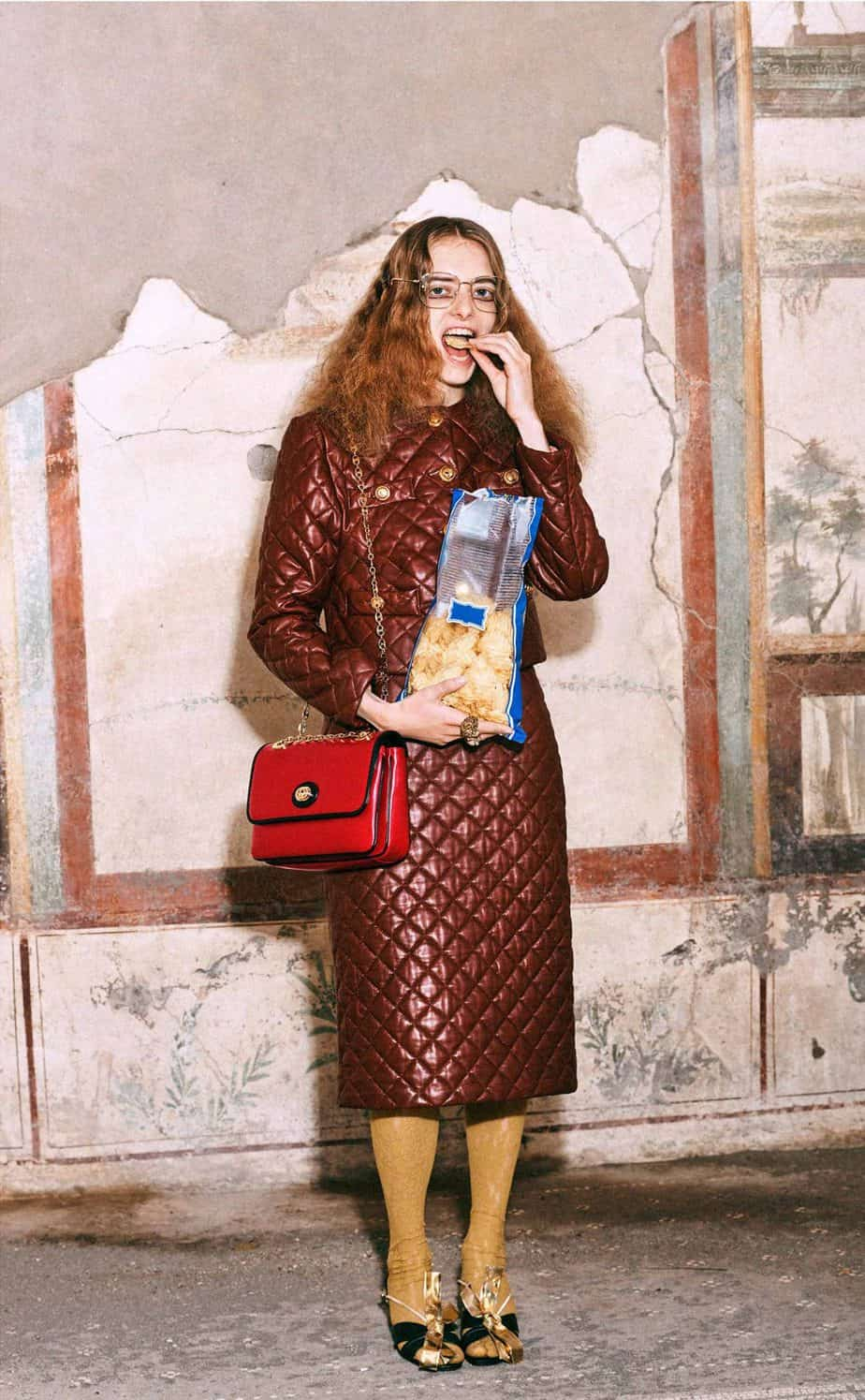 GUCCI, FALL 2019. WOMEN'S FASHION, Photographer Harmony Korine, Art Director, Christopher Simmonds - 46