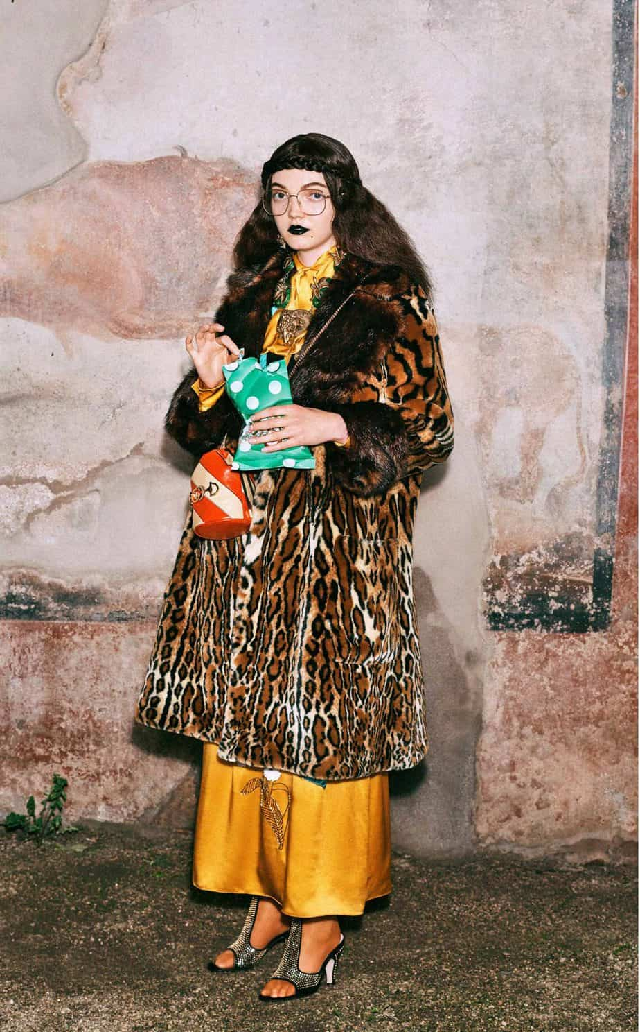 GUCCI, FALL 2019. WOMEN'S FASHION, Photographer Harmony Korine, Art Director, Christopher Simmonds - 48