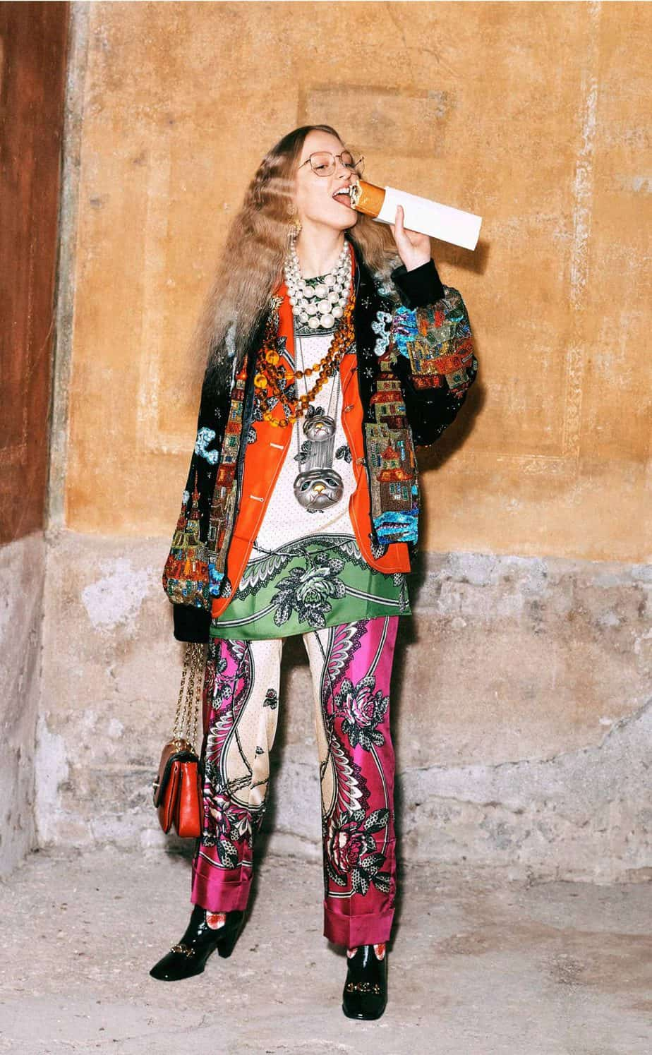 GUCCI, FALL 2019. WOMEN'S FASHION, Photographer Harmony Korine, Art Director, Christopher Simmonds - 55
