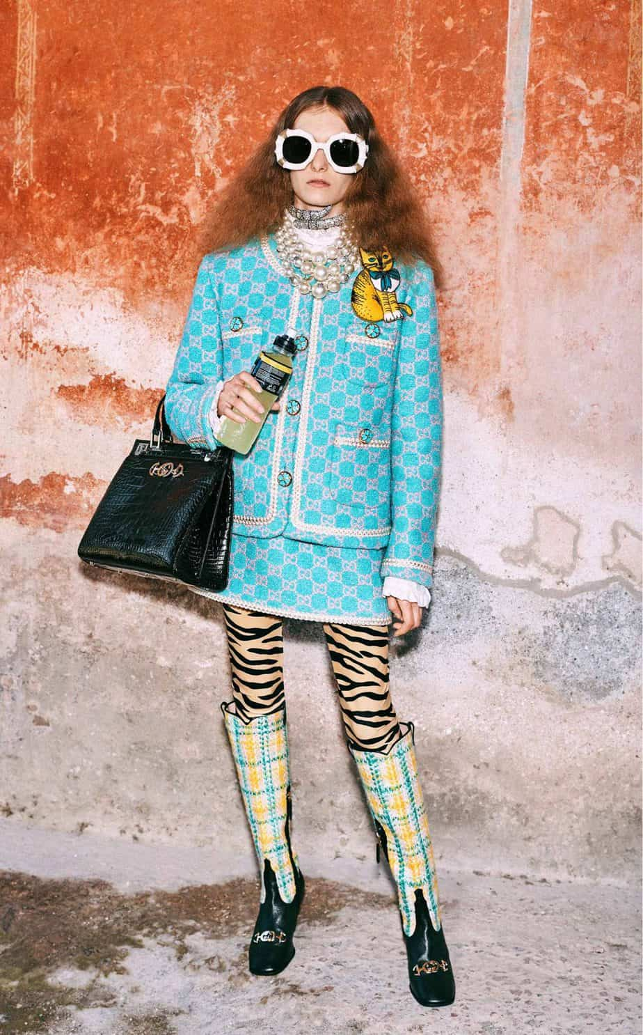 GUCCI, FALL 2019. WOMEN'S FASHION, Photographer Harmony Korine, Art Director, Christopher Simmonds - 6