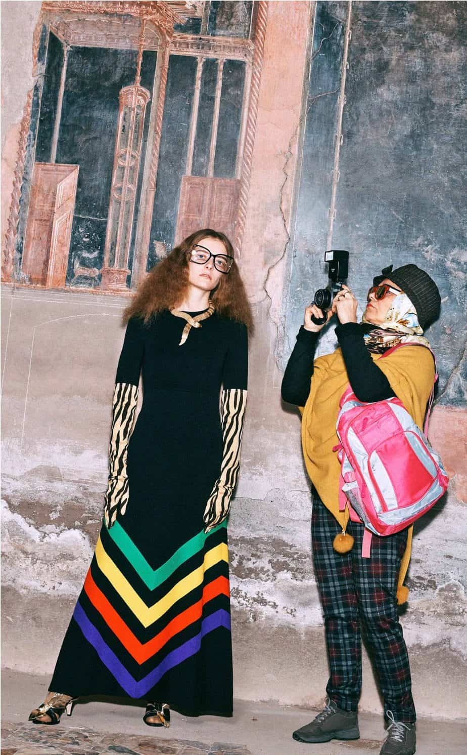 GUCCI, FALL 2019. WOMEN'S FASHION, Photographer Harmony Korine, Art Director, Christopher Simmonds - 63
