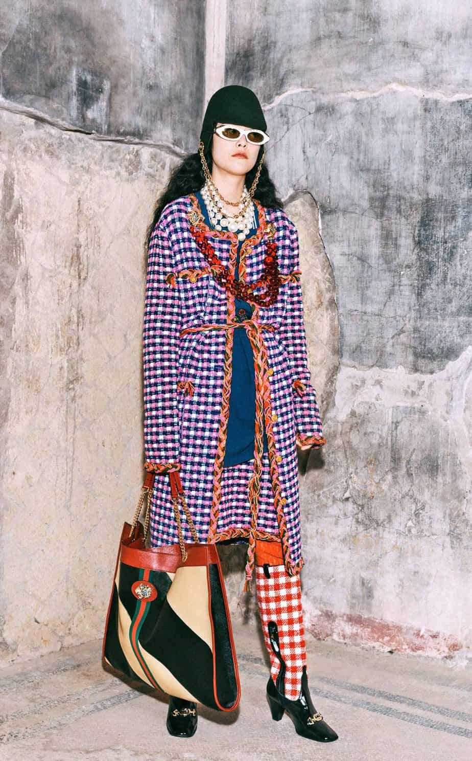 GUCCI, FALL 2019. WOMEN'S FASHION, Photographer Harmony Korine, Art Director, Christopher Simmonds - 81