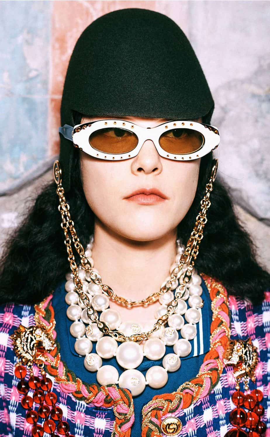 GUCCI, FALL 2019. WOMEN'S FASHION, Photographer Harmony Korine, Art Director, Christopher Simmonds - 82