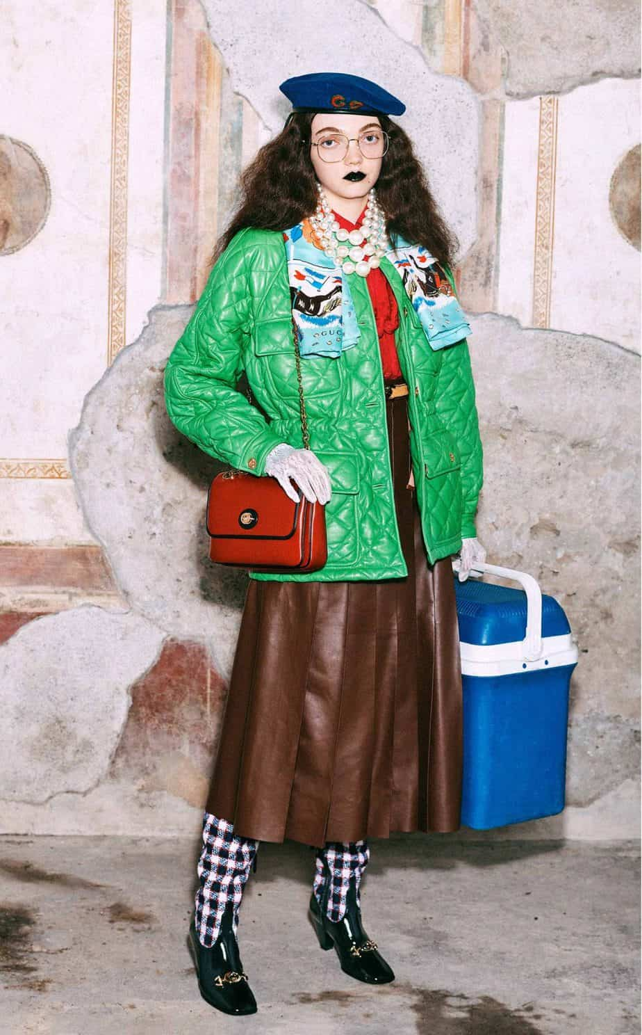 GUCCI, FALL 2019. WOMEN'S FASHION, Photographer Harmony Korine, Art Director, Christopher Simmonds - 89