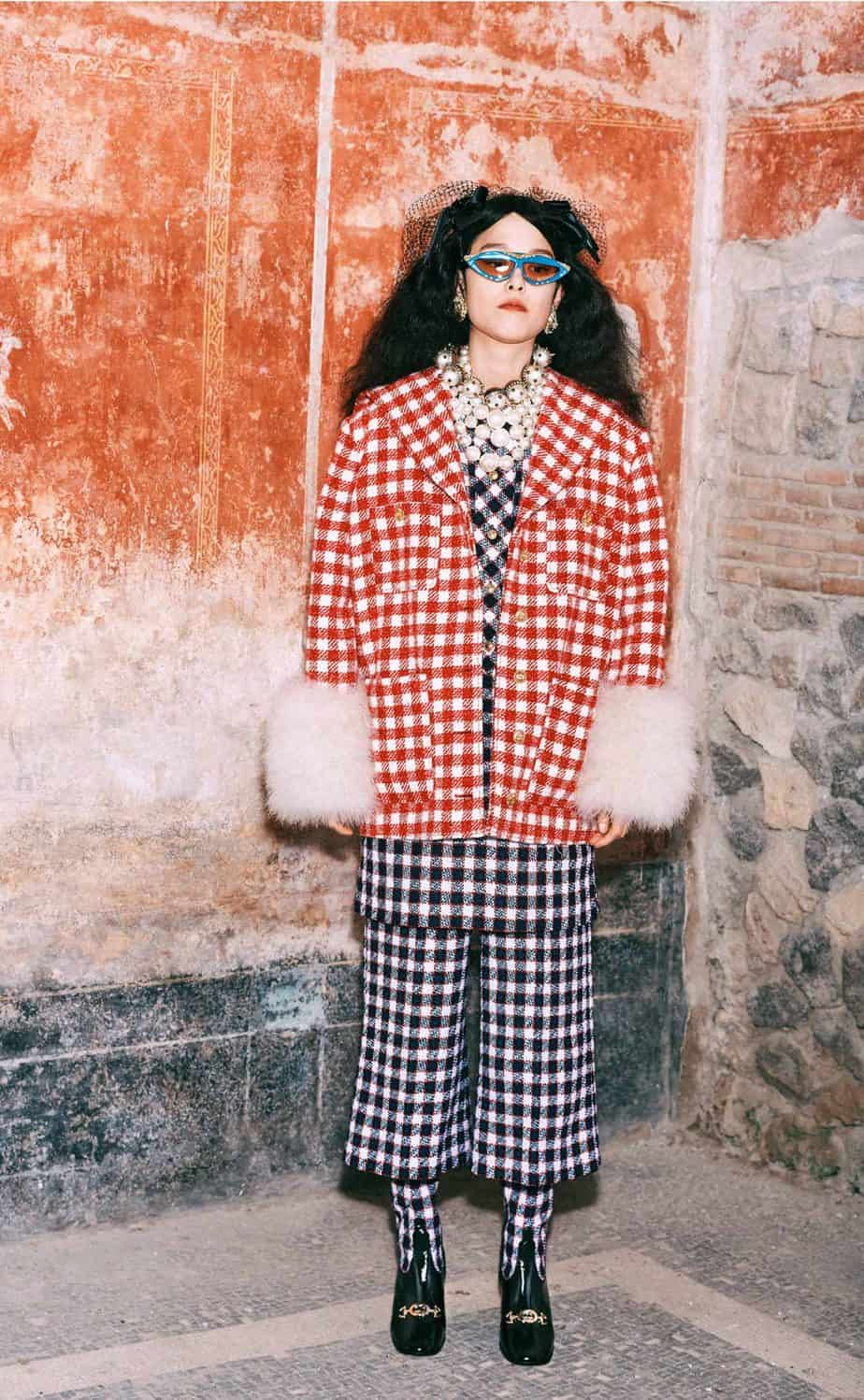 GUCCI, FALL 2019. WOMEN'S FASHION, Photographer Harmony Korine, Art Director, Christopher Simmonds - 91