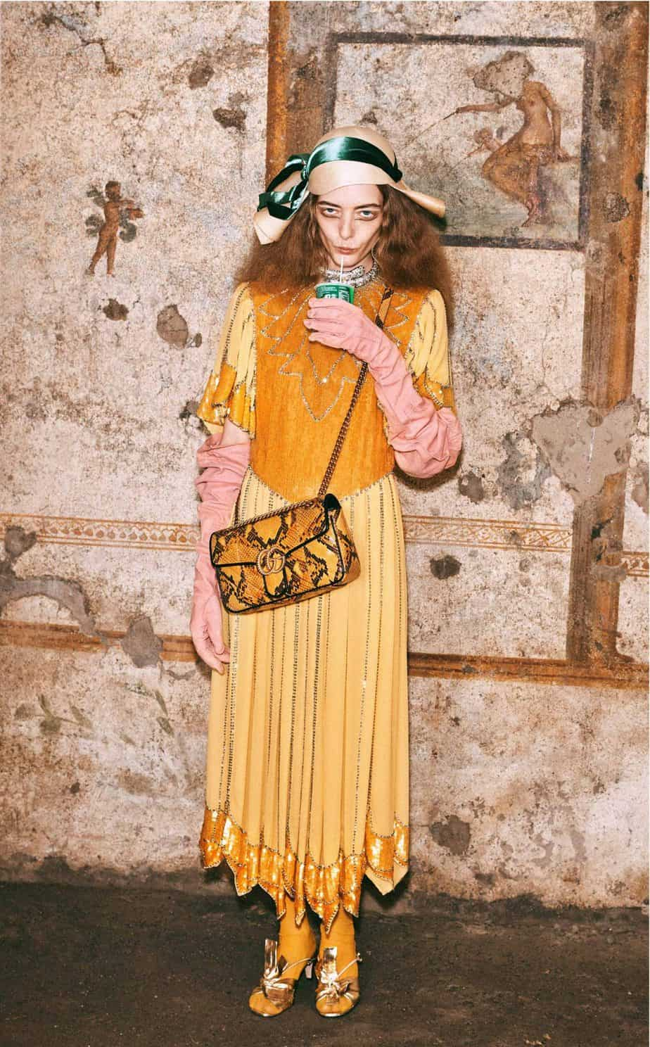 GUCCI, FALL 2019. WOMEN'S FASHION, Photographer Harmony Korine, Art Director, Christopher Simmonds - 95