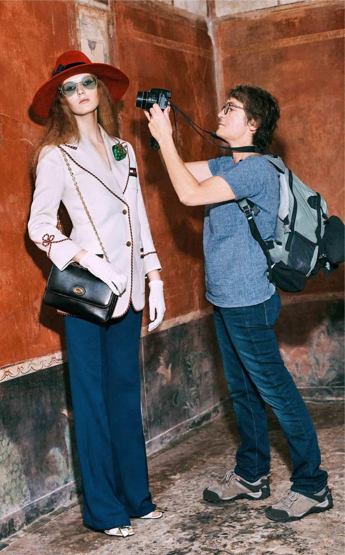 GUCCI, FALL 2019. WOMEN'S FASHION, Photographer Harmony Korine, Art Director, Christopher Simmonds - 14