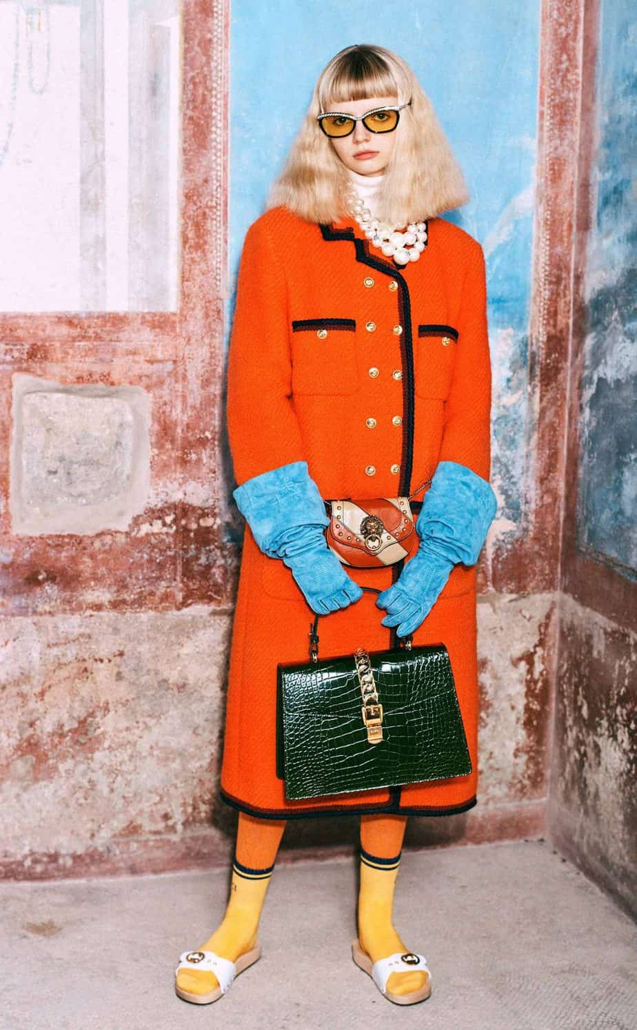GUCCI, FALL 2019. WOMEN'S FASHION, Photographer Harmony Korine, Art Director, Christopher Simmonds - 15