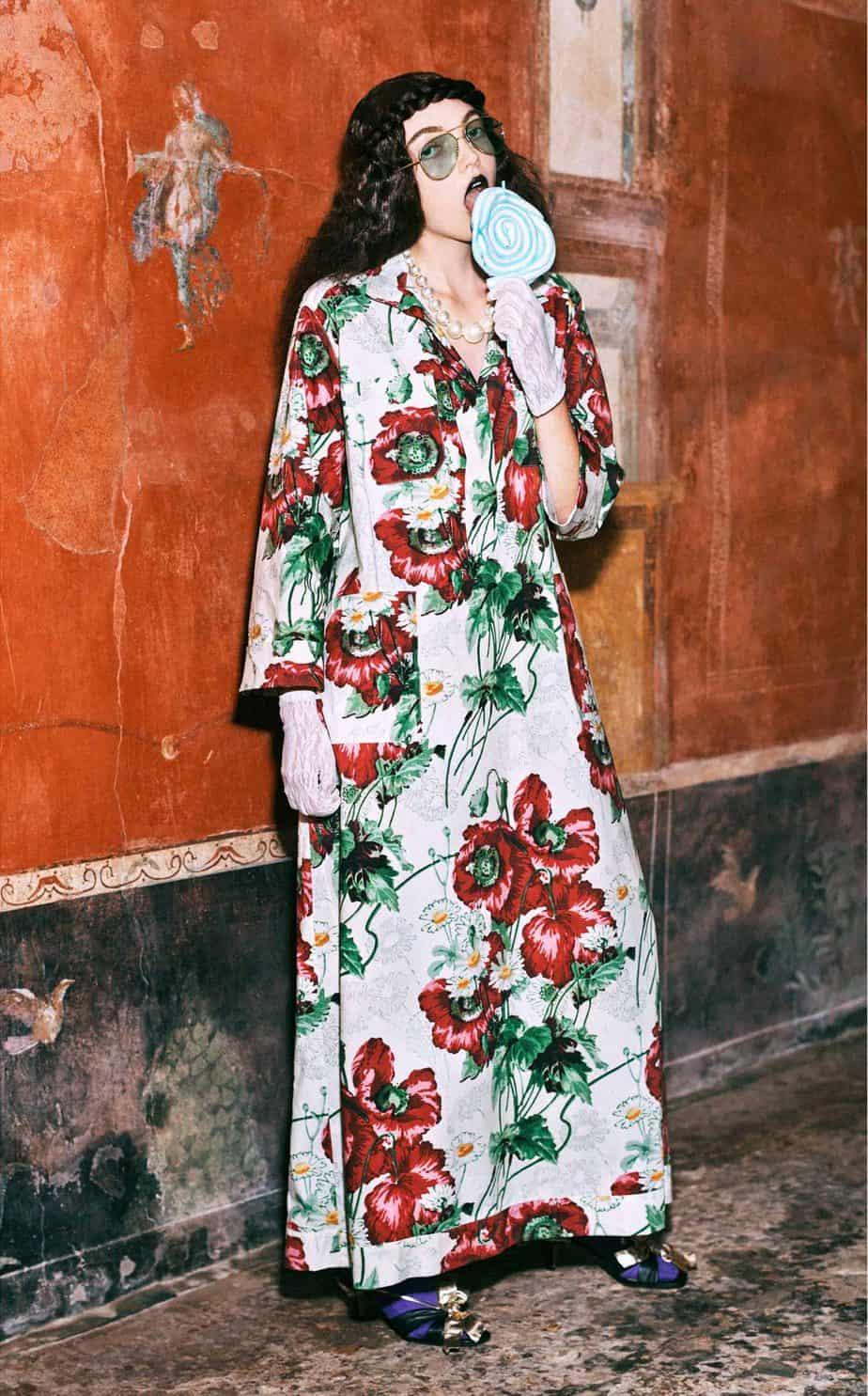 GUCCI, FALL 2019. WOMEN'S FASHION, Photographer Harmony Korine, Art Director, Christopher Simmonds - 16