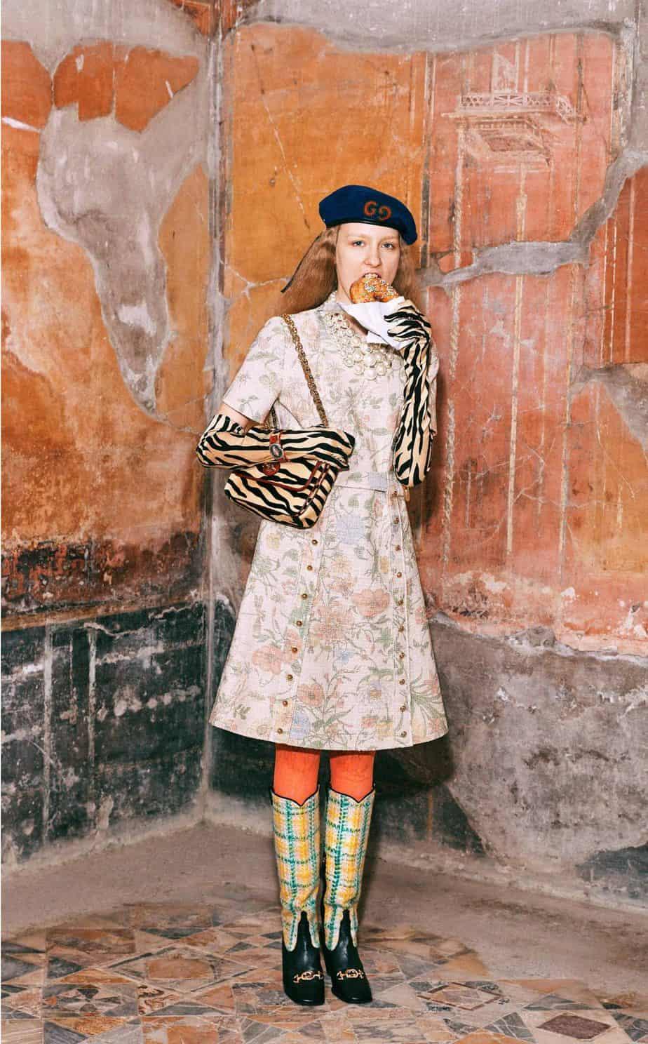 GUCCI, FALL 2019. WOMEN'S FASHION, Photographer Harmony Korine, Art Director, Christopher Simmonds - 26