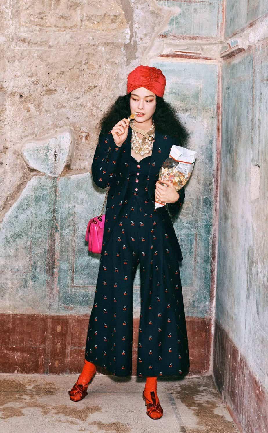 GUCCI, FALL 2019. WOMEN'S FASHION, Photographer Harmony Korine, Art Director, Christopher Simmonds - 4