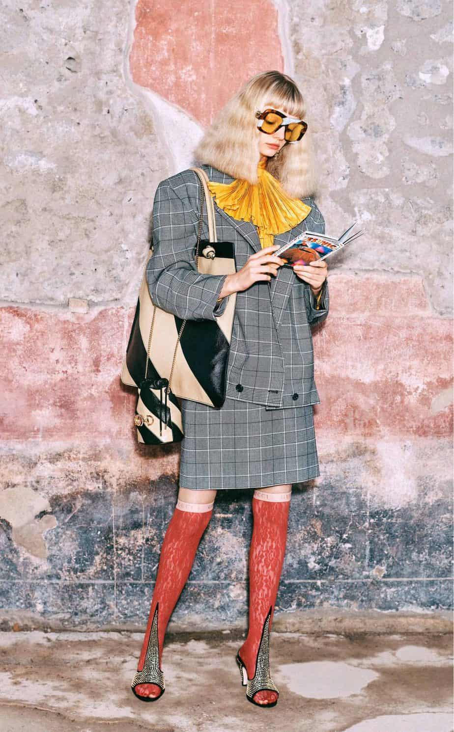 GUCCI, FALL 2019. WOMEN'S FASHION, Photographer Harmony Korine, Art Director, Christopher Simmonds - 42