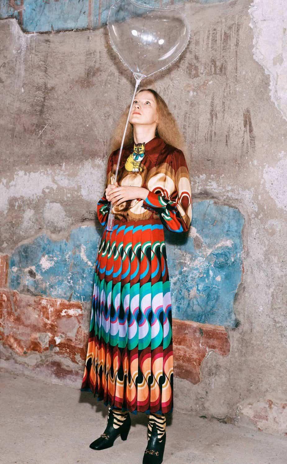 GUCCI, FALL 2019. WOMEN'S FASHION, Photographer Harmony Korine, Art Director, Christopher Simmonds - 62