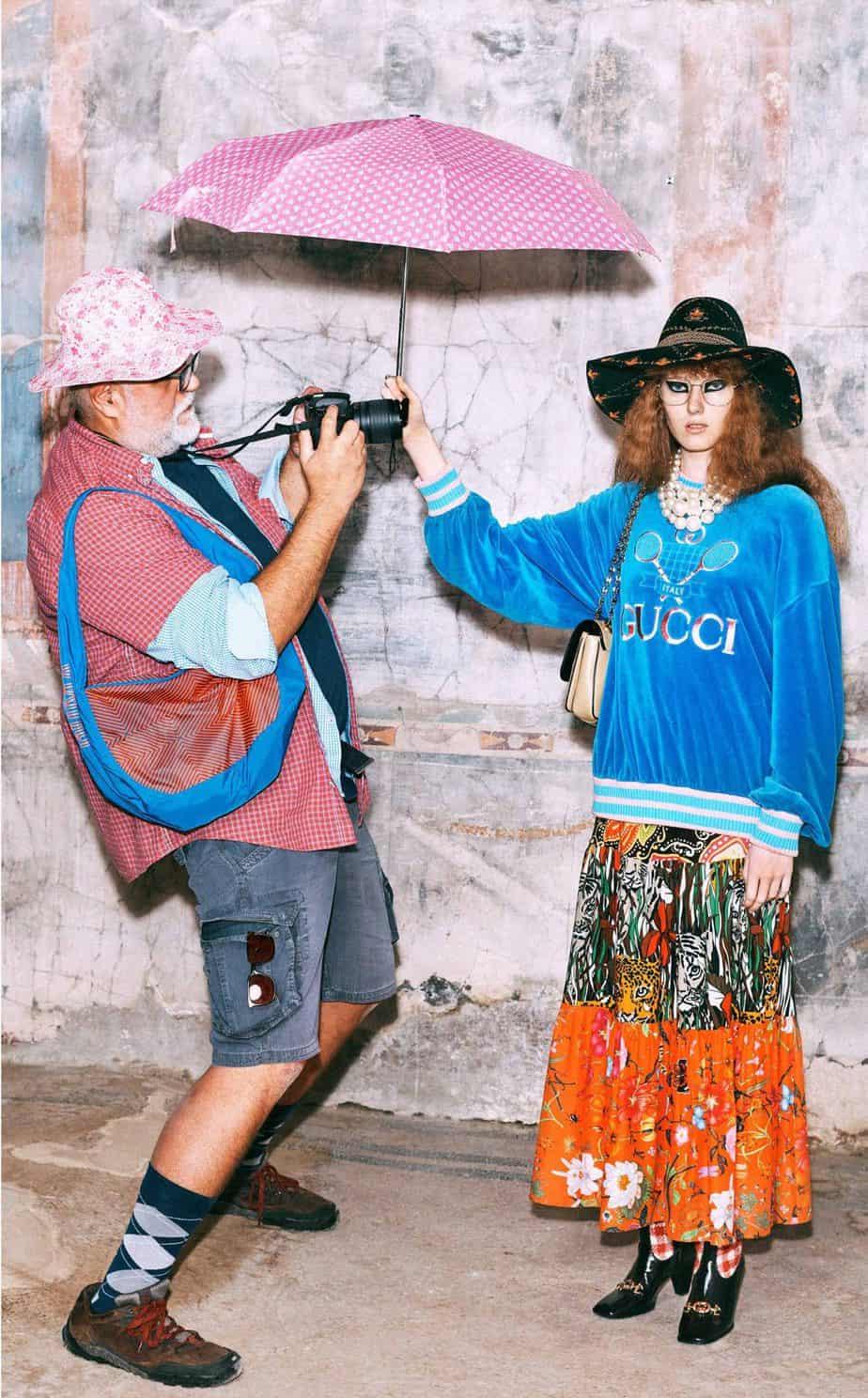 GUCCI, FALL 2019. WOMEN'S FASHION, Photographer Harmony Korine, Art Director, Christopher Simmonds - 67