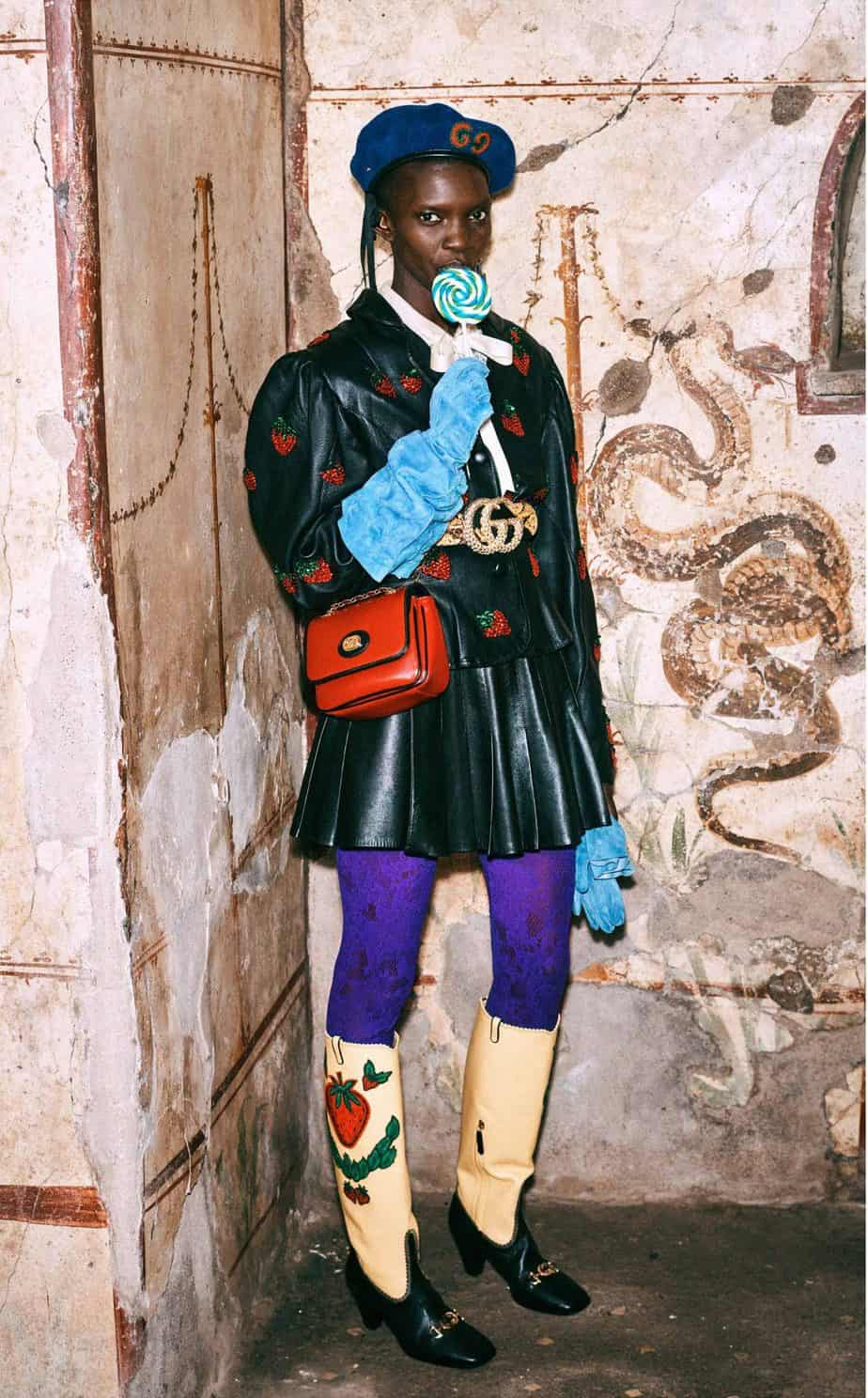 GUCCI, FALL 2019. WOMEN'S FASHION, Photographer Harmony Korine, Art Director, Christopher Simmonds - 72