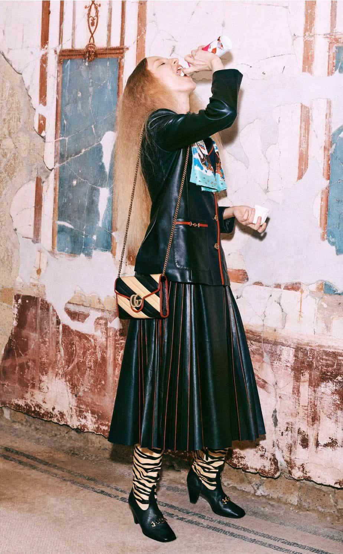 GUCCI, FALL 2019. WOMEN'S FASHION, Photographer Harmony Korine, Art Director, Christopher Simmonds - 74