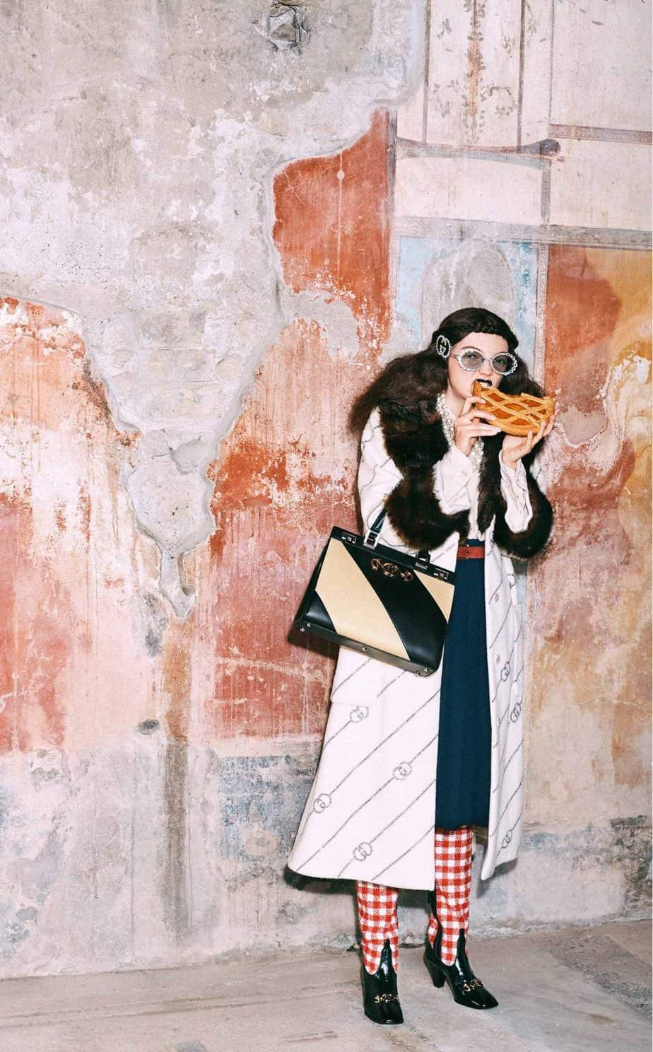 GUCCI, FALL 2019. WOMEN'S FASHION, Photographer Harmony Korine, Art Director, Christopher Simmonds - 75