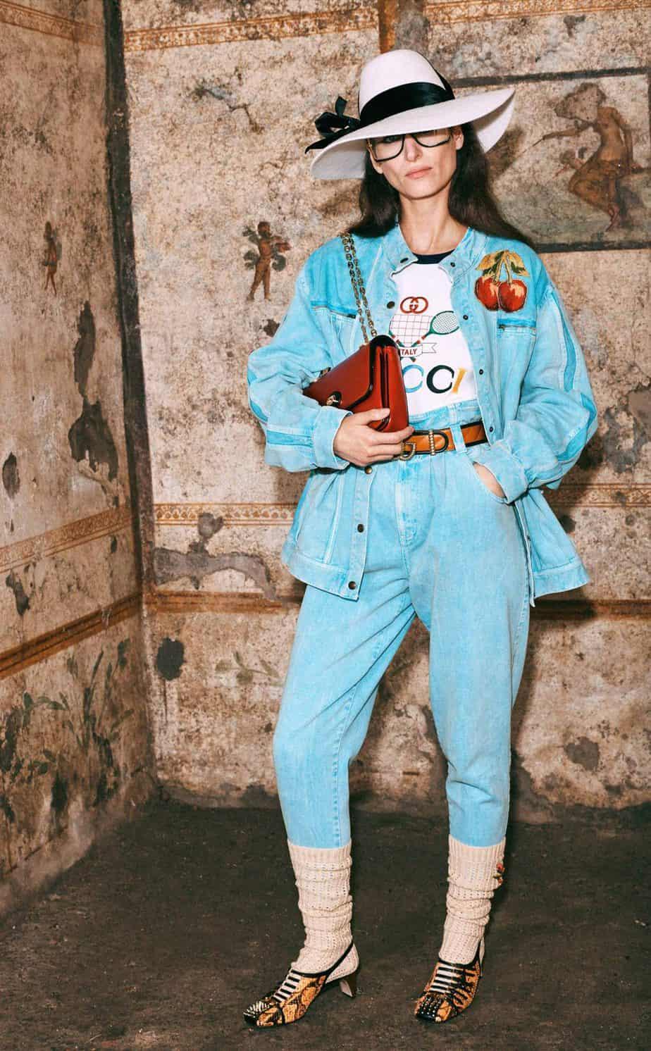GUCCI, FALL 2019. WOMEN'S FASHION, Photographer Harmony Korine, Art Director, Christopher Simmonds - 79