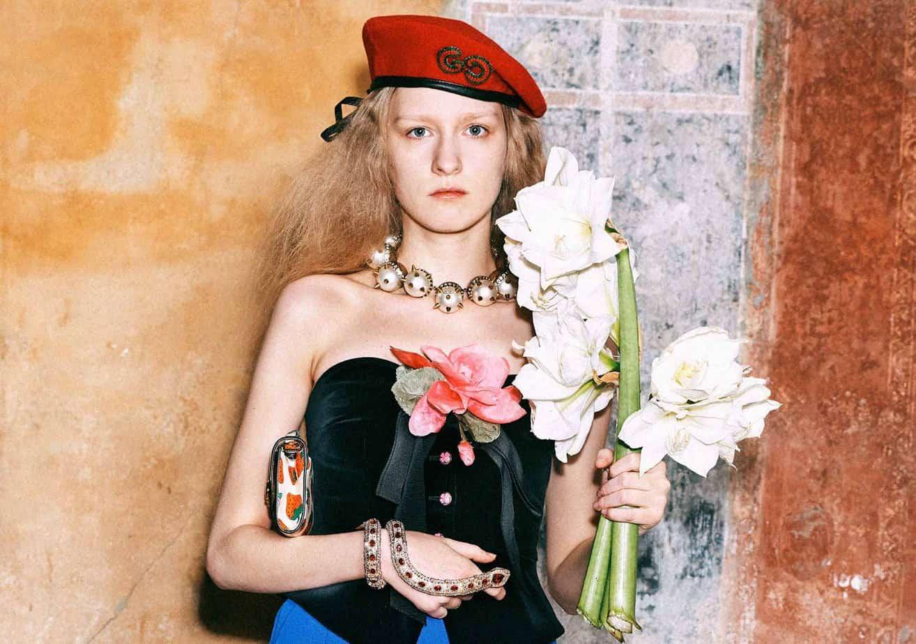 GUCCI, FALL 2019. WOMEN'S FASHION, Photographer Harmony Korine, Art Director, Christopher Simmonds - 84