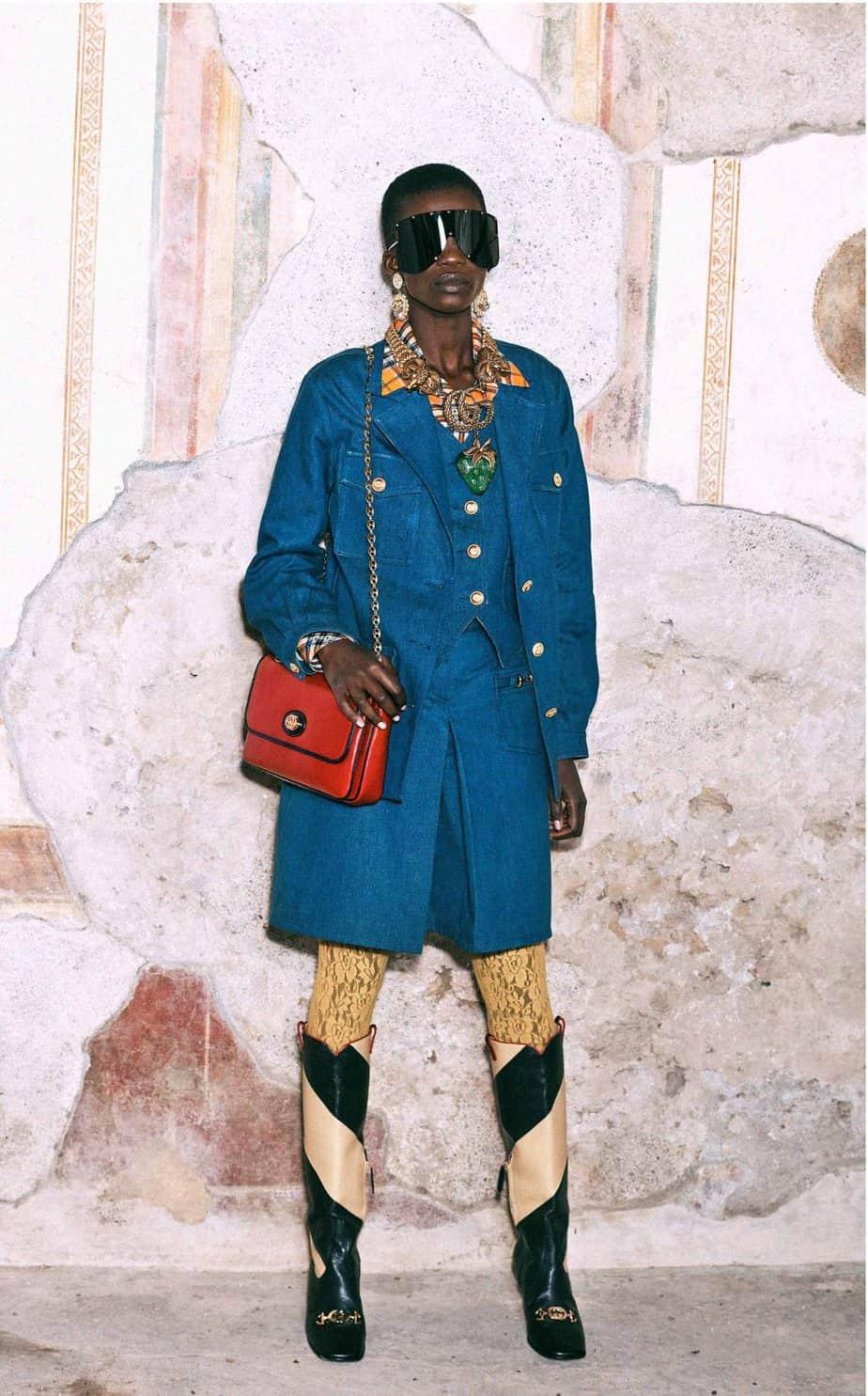 GUCCI, FALL 2019. WOMEN'S FASHION, Photographer Harmony Korine, Art Director, Christopher Simmonds - 85