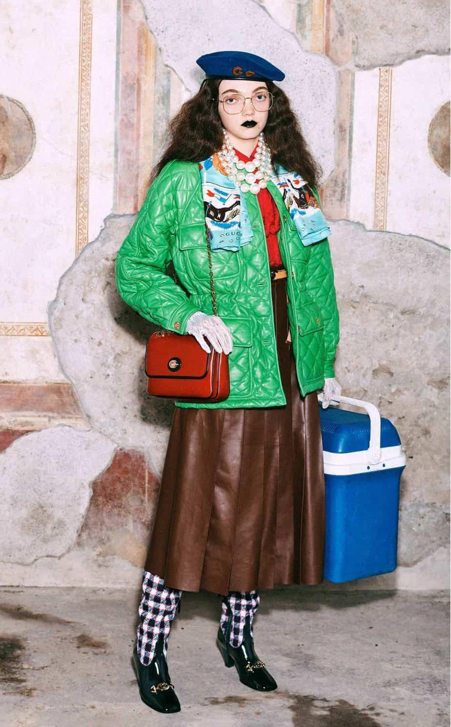 GUCCI, FALL 2019. WOMEN'S FASHION, Photographer Harmony Korine, Art Director, Christopher Simmonds - 89